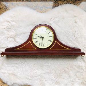 Bombay Company Mantel Wooden Clock